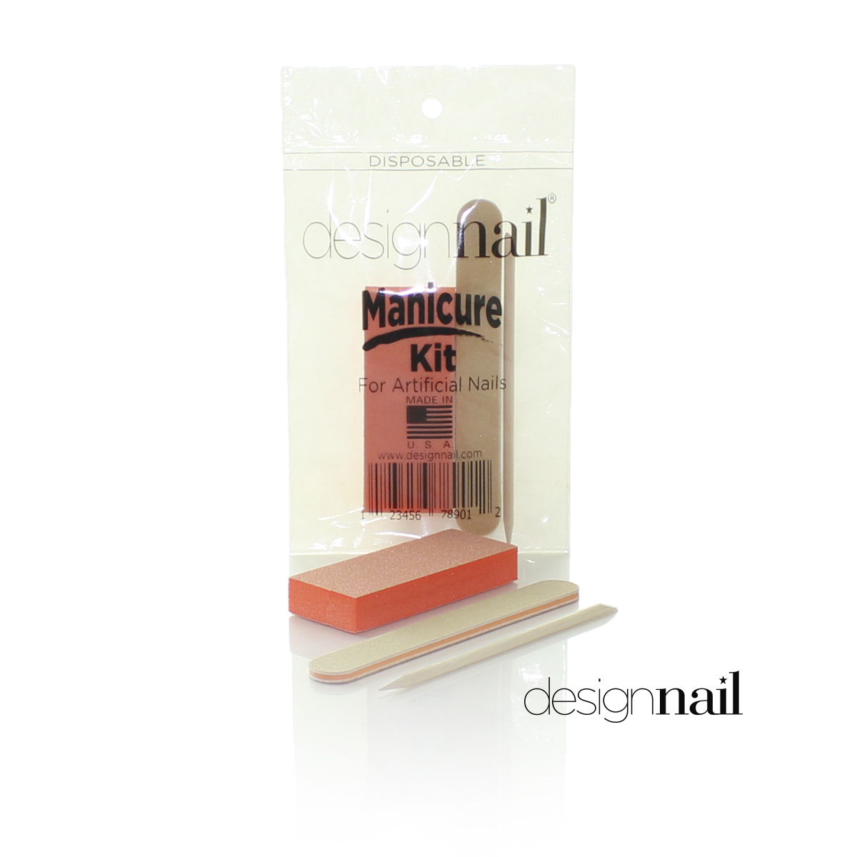 Disposable Manicure Kit for Artificial Nails by Design Nail