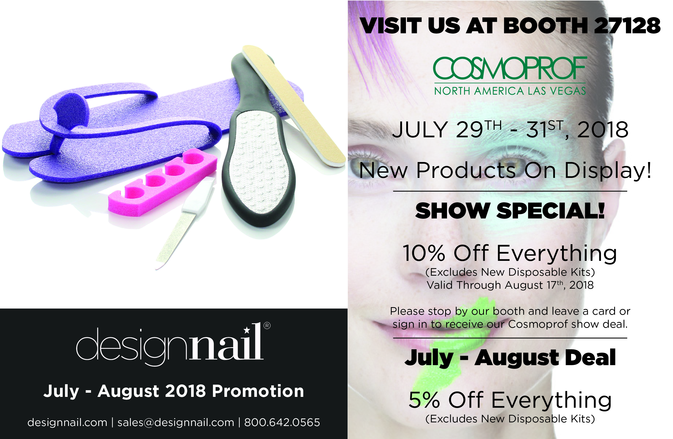 Design Nail January July August Promotions