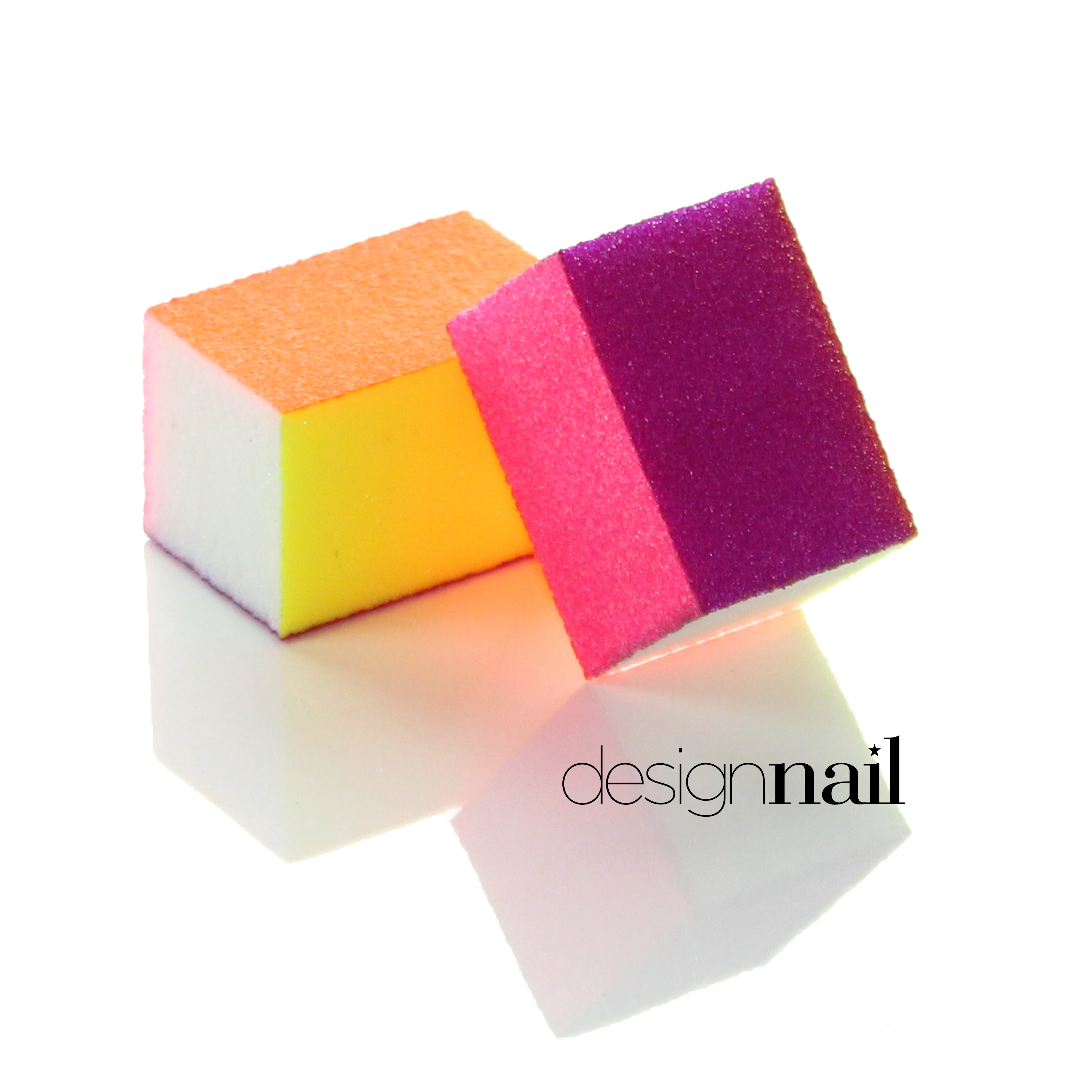 Neon Mini 4 Sided Sanding Block by Design Nail