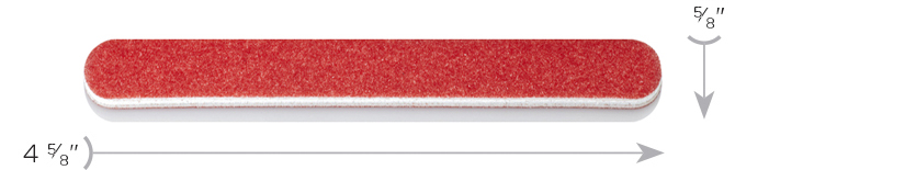 Dimensions Red Cushion File Mini by Design Nail