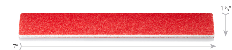 Dimensions Red Extra Wide Mylar File by Design Nail