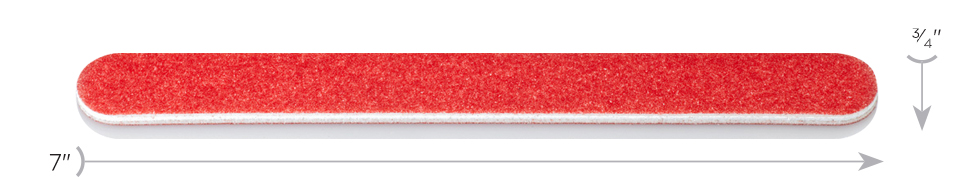 Dimensions Red Standard Mylar File by Design-Nail
