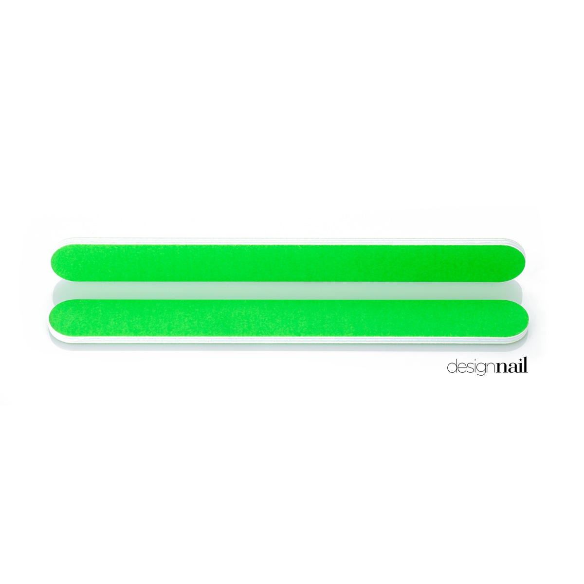 Neon Green Standard Cushion File by Design Nail