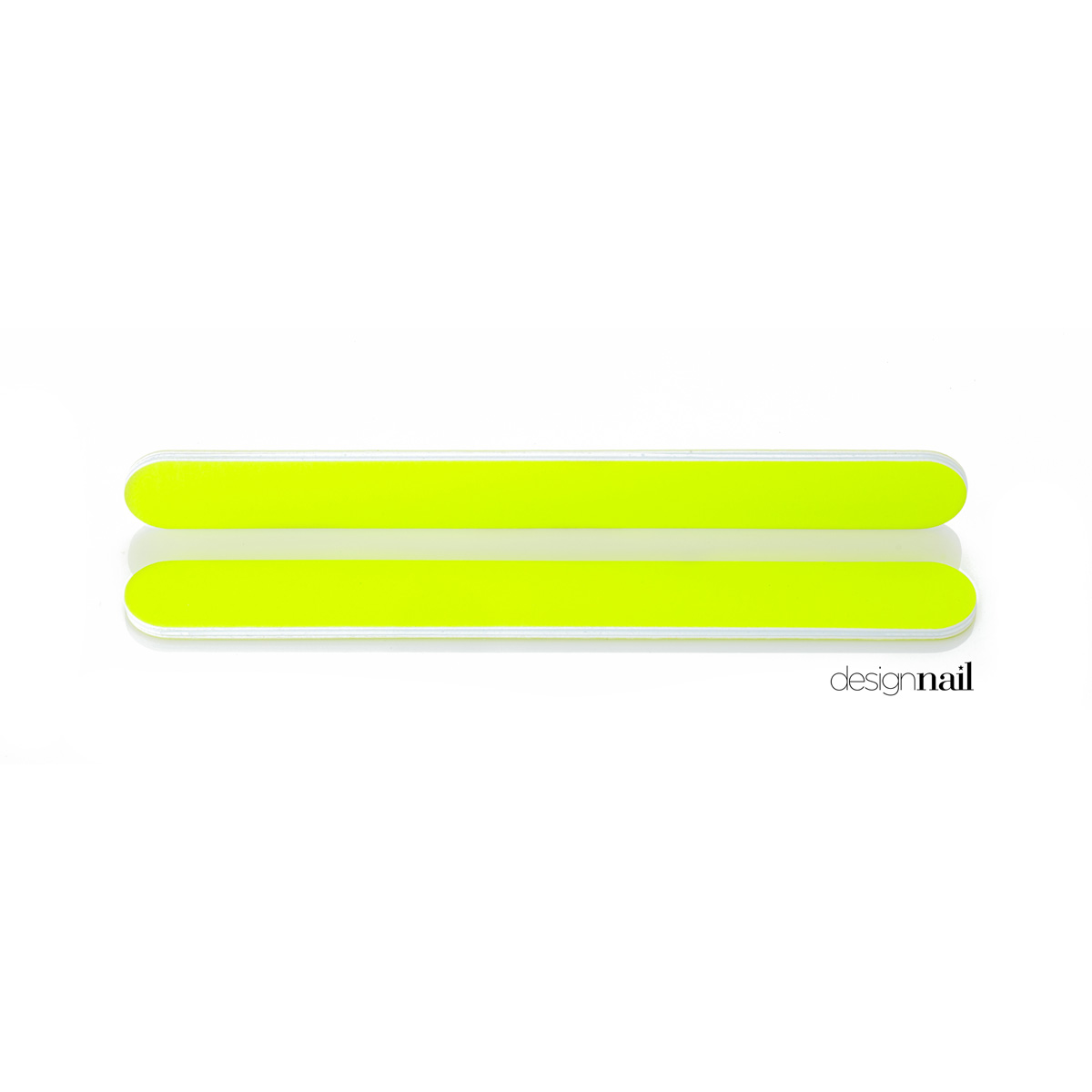 Neon Yellow Standard Cushion File by Design Nail