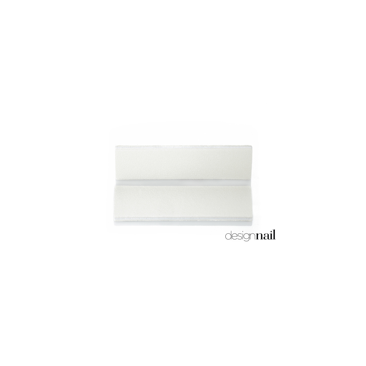 White Mini Extra Wide File by Design Nail